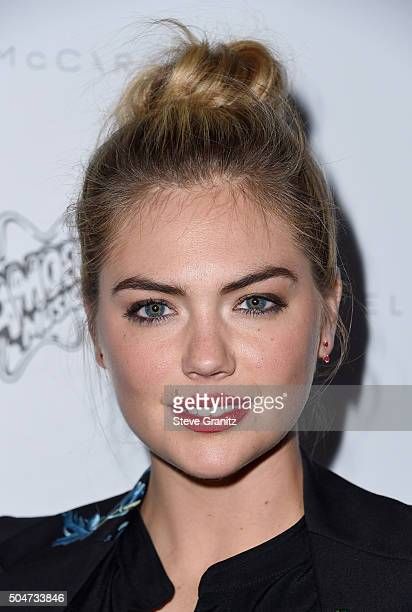 Model Kate Upton attends Stella McCartney Autumn 2016 Presentation at Amoeba Music on January 12 2016 in Los Angeles California