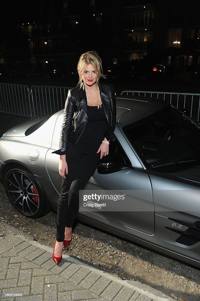 Model <a gi-track='captionPersonalityLinkClicked' href=/galleries/search?phrase=Kate+Upton&family=editorial&specificpeople=7488546 ng-click='$event.stopPropagation()'>Kate Upton</a> attends the Mercedes-Benz/GQParty at The Elms Mansion on February 2, 2013 in New Orleans, Louisiana.