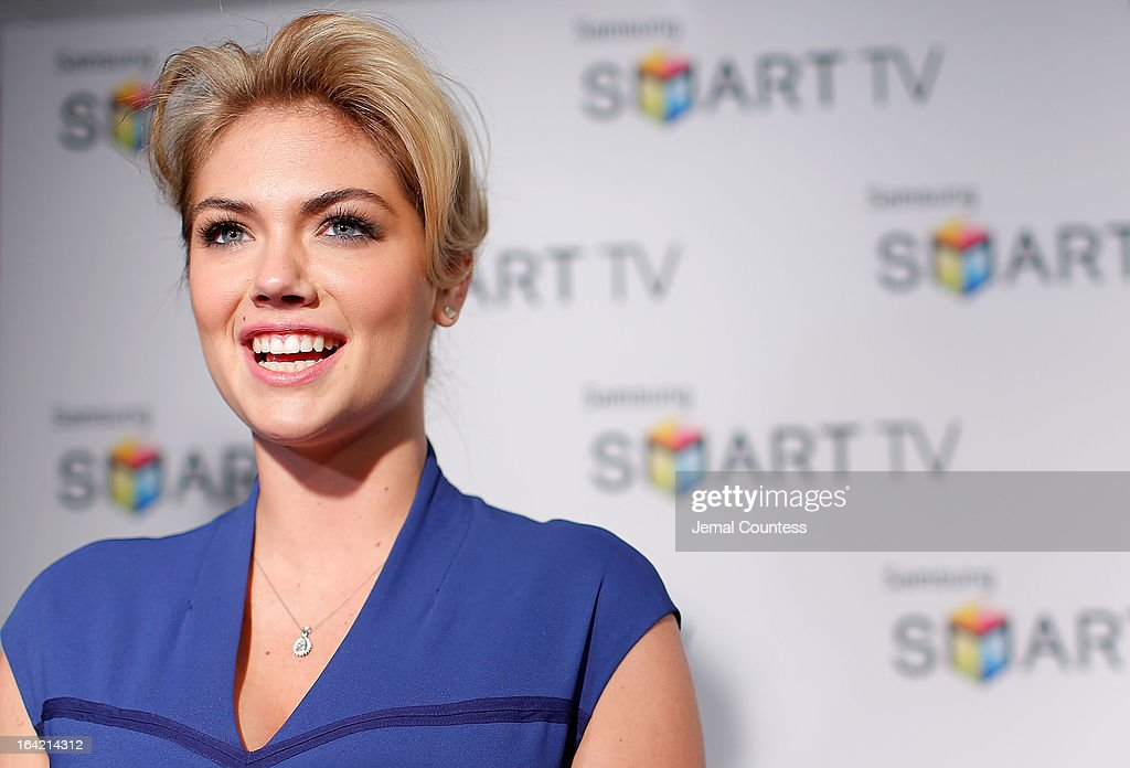 Model <a gi-track='captionPersonalityLinkClicked' href=/galleries/search?phrase=Kate+Upton&family=editorial&specificpeople=7488546 ng-click='$event.stopPropagation()'>Kate Upton</a> attends The Samsung Spring 2013 Launch at Museum Of American Finance on March 20, 2013 in New York City.