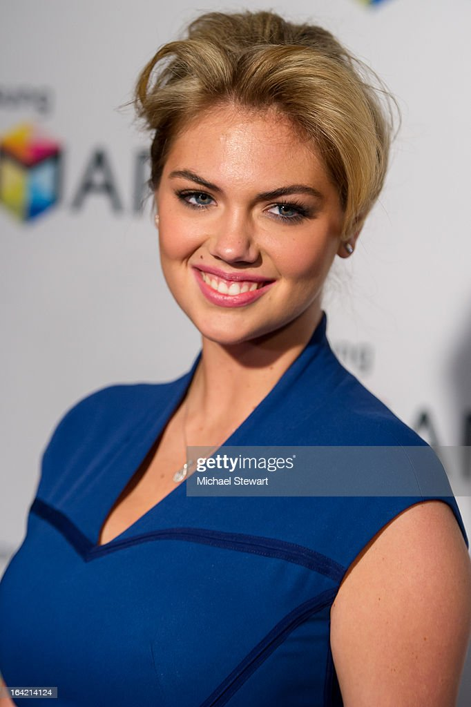 Model Kate Upton attends The Samsung Spring 2013 Launch at the Museum Of American Finance on March 20, 2013 in New York City.
