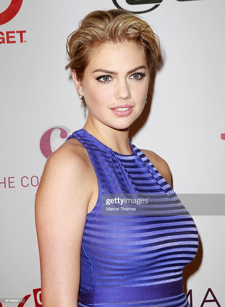 Model Kate Upton attends the 'Sports Illustrated Swimsuit on Location' event at the Marquee Nightclub at The Cosmopolitan of Las Vegas on February 13, 2013 in Las Vegas, Nevada.