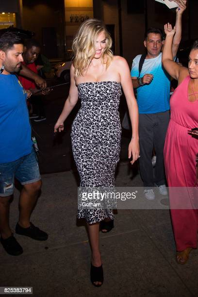 Model Kate Upton is seen in SoHo on August 1 2017 in New York City