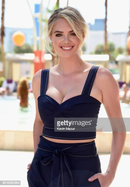 Model Kate Upton makes a splash at JBL Poolside one of the many events a part of JBL Fest an exclusive threeday music experience hosted by JBL at the...
