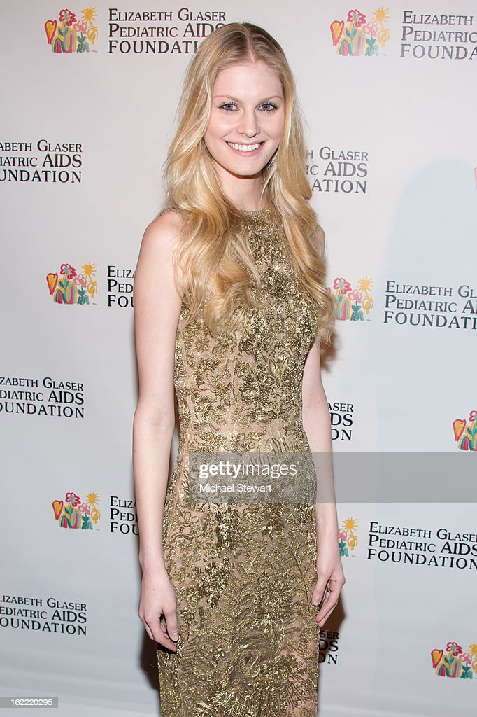 Model Kate Wagoner attends Global Champions Of A Mother's Fight Awards Dinner at Mandarin Oriental Hotel on February 20, 2013 in New York City.