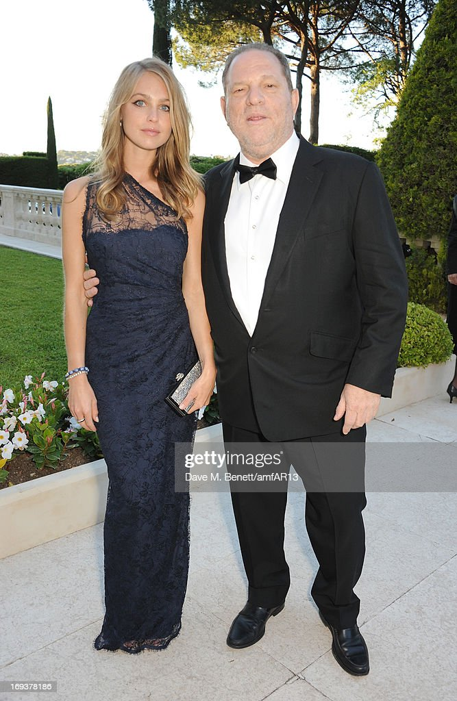 Model Katharina Damm (L) and film producer <a gi-track='captionPersonalityLinkClicked' href=/galleries/search?phrase=Harvey+Weinstein&family=editorial&specificpeople=201749 ng-click='$event.stopPropagation()'>Harvey Weinstein</a> attend amfAR's 20th Annual Cinema Against AIDS during The 66th Annual Cannes Film Festival at Hotel du Cap-Eden-Roc on May 23, 2013 in Cap d'Antibes, France.