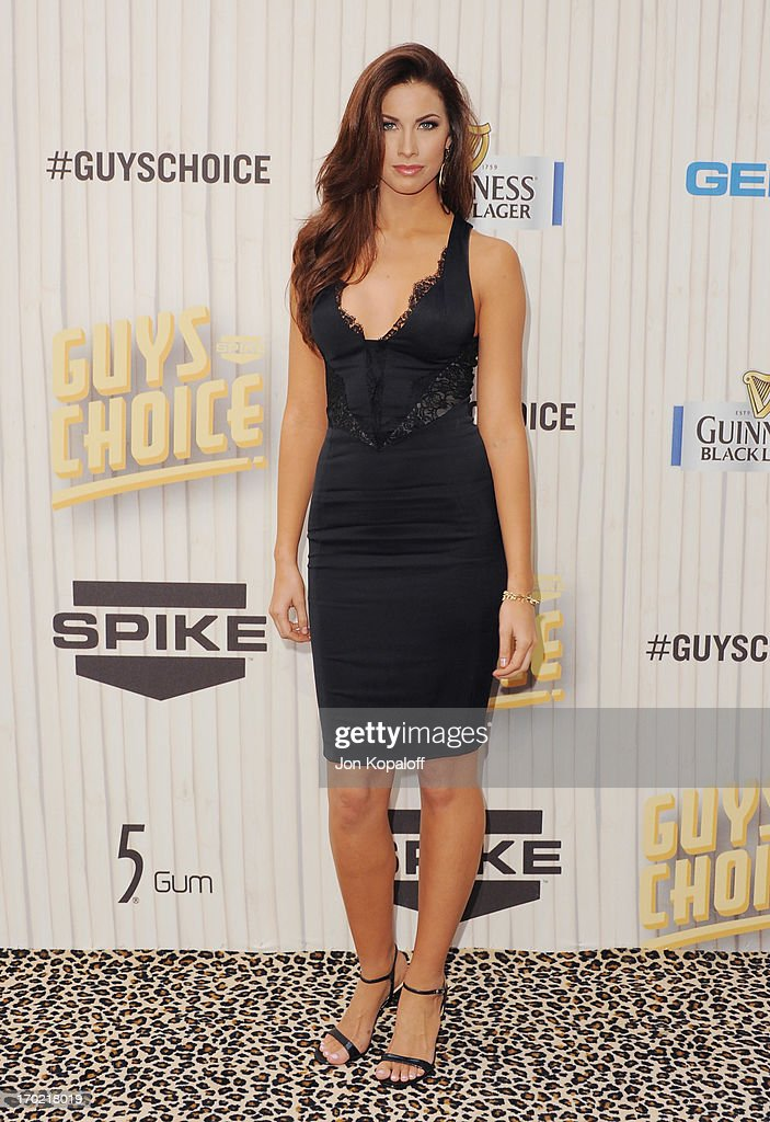 Model Katherine Webb arrives at Spike TV's 'Guys Choice 2013' at Sony Pictures Studios on June 8, 2013 in Culver City, California.