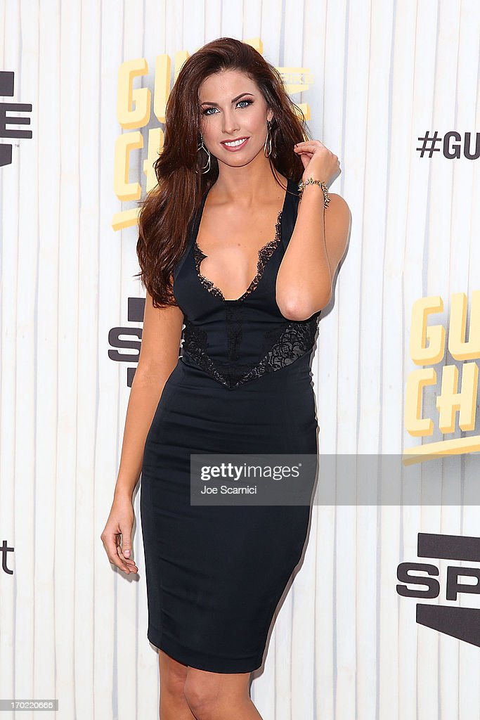 Model Katherine Webb arrives at the 2013 Spike TV 'Guys Choice' at Sony Pictures Studios on June 8, 2013 in Culver City, California.