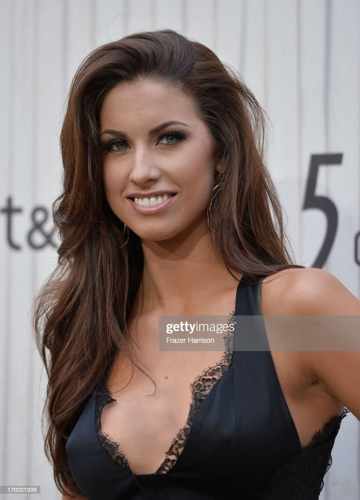 Model Katherine Webb attends Spike TV's 'Guys Choice 2013' at Sony Pictures Studios on June 8, 2013 in Culver City, California.