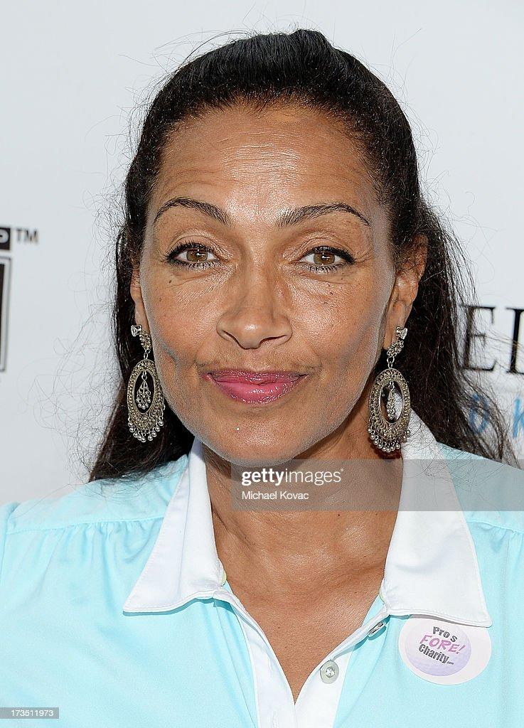 Model Kathleen Bradley attends The 4th annual Alex Thomas Celebrity Golf Classic presented by Belvedere at Mountain Gate Country Club on July 15, 2013 in Los Angeles, California.