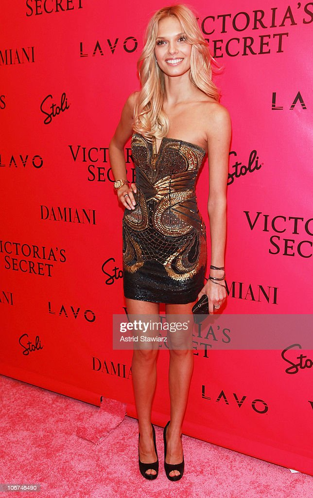 Model Katsia Damankova attends the after party following the 2010 Victoria's Secret Fashion Show at Lavo on November 10, 2010 in New York City.