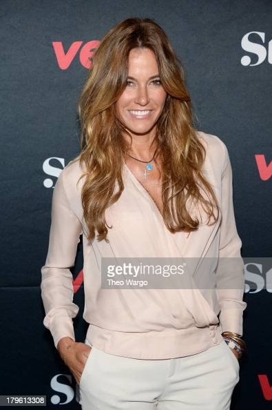 Model Kelly Bensimon attends the VEVO and Styled To Rock Celebration hosted by Actress Model and Styled to Rock Mentor Erin Wasson with performances...