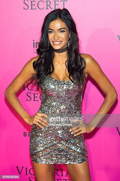 Model Kelly Gale attends the 2016 Victoria's Secret Fashion Show after party at Le Grand Palais on November 30 2016 in Paris France