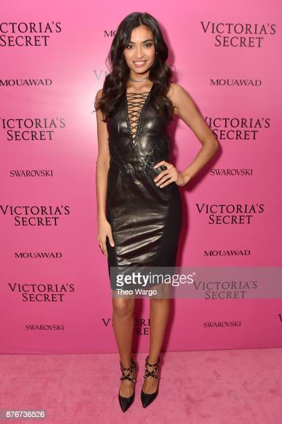 Model Kelly Gale attends the 2017 Victoria's Secret Fashion Show In Shanghai After Party at MercedesBenz Arena on November 20 2017 in Shanghai China