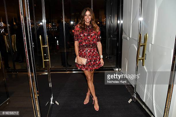 Model Kelly Killoren Bensimon attends as Barneys New York celebrates its new downtown flagship in New York City on March 17 2016 in New York City
