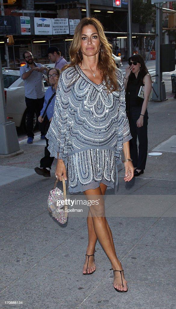 Model Kelly Killoren Bensimon attends BAMcinemaFest 2013 And The Cinema Society Host The Opening Night Premiere Of 'Ain't Them Bodies Saints' at BAM Harvey Theater on June 19, 2013 in New York City.