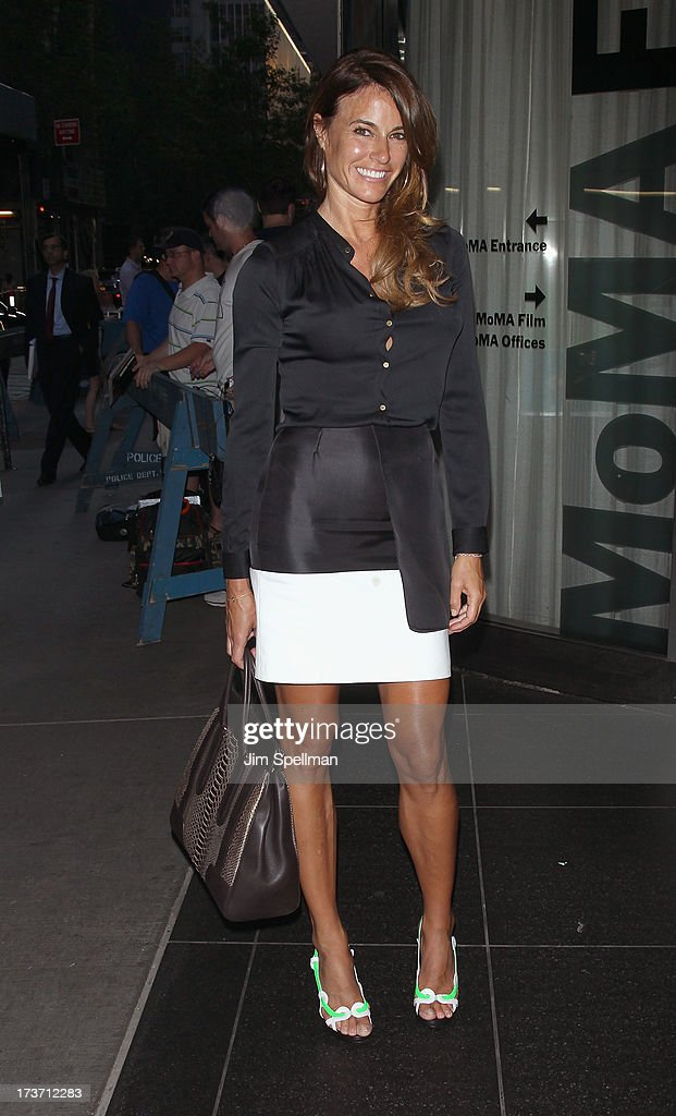 Model Kelly Killoren Bensimon attends The Cinema Society & Bally screening of Summit Entertainment's 'Red 2' at the Museum of Modern Art on July 16, 2013 in New York City.