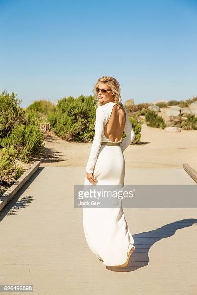 Model Kelly Rohrbach is photographed for Luxury Magazine on April 28 2015 in Laguna Beach California PUBLISHED IMAGE