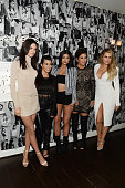 Model Kendall Jenner and tv personalities Kourtney Kardashian Kylie Jenner Kris Jenner and Khloe Kardashian attend Opening Ceremony and Calvin Klein...