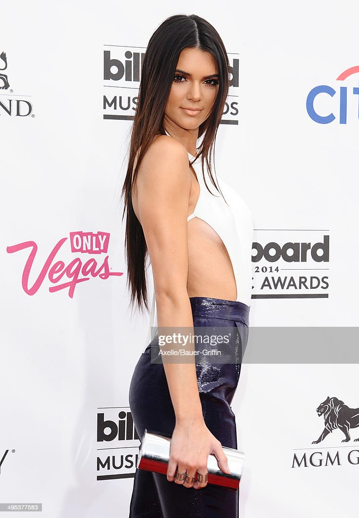 Model Kendall Jenner arrives at the 2014 Billboard Music Awards at the MGM Grand Garden Arena on May 18, 2014 in Las Vegas, Nevada.