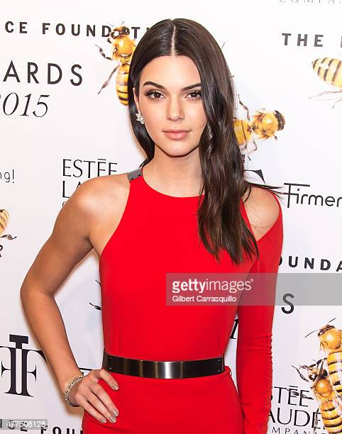 Model Kendall Jenner attends 2015 Fragrance Foundation Awards at Alice Tully Hall at Lincoln Center on June 17 2015 in New York City