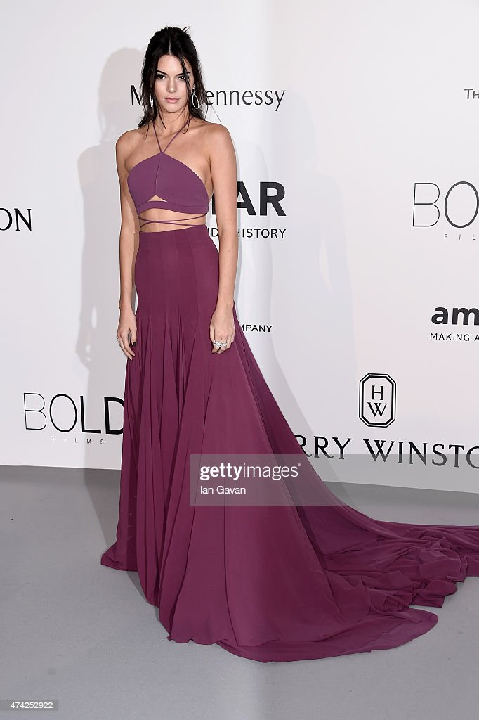 Model Kendall Jenner attends amfAR's 22nd Cinema Against AIDS Gala Presented By Bold Films And Harry Winston at Hotel du CapEdenRoc on May 21 2015 in...