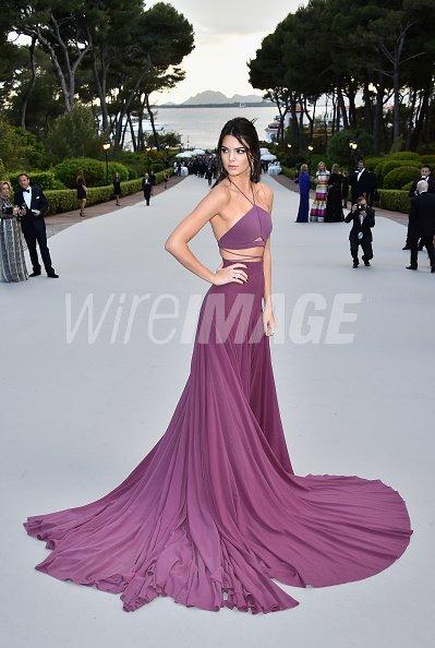 Model Kendall Jenner attends amfARs...