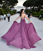 Model Kendall Jenner attends amfAR's 22nd Cinema Against AIDS Gala Presented By Bold Films And Harry Winston at Hotel du CapEdenRoc on May 21