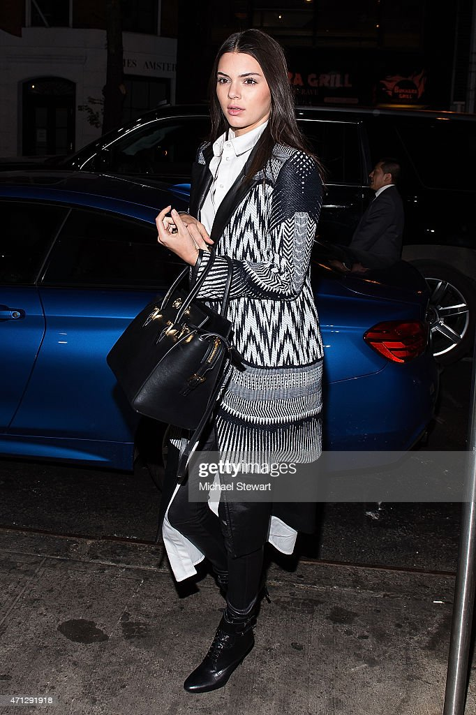 Model Kendall Jenner attends Gigi Hadid's Birthday Party at Red Stixs on April 26, 2015 in New York City.