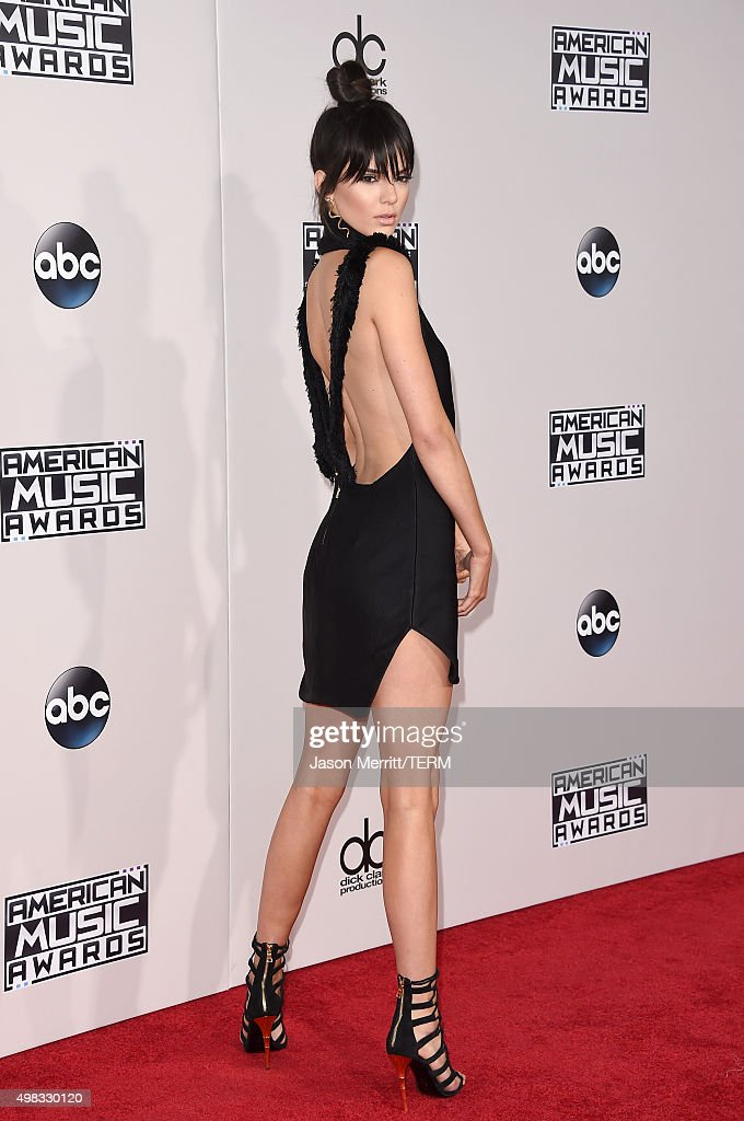 Model Kendall Jenner attends the 2015 American Music Awards at Microsoft Theater on November 22, 2015 in Los Angeles, California.