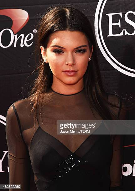 Model Kendall Jenner attends The 2015 ESPYS at Microsoft Theater on July 15 2015 in Los Angeles California