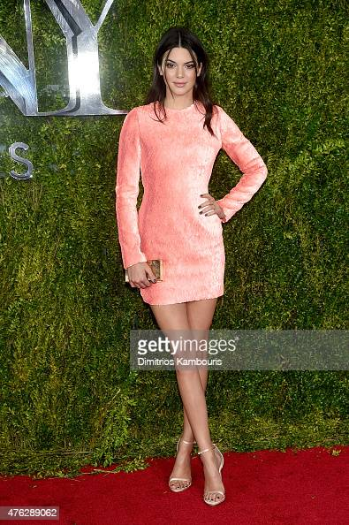 Model Kendall Jenner attends the 2015 Tony Awards at Radio City Music Hall on June 7 2015 in New York City
