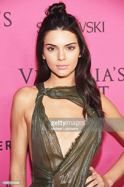 Model Kendall Jenner attends the 2015 Victoria's Secret Fashion After Party at TAO Downtown on November 10 2015 in New York City