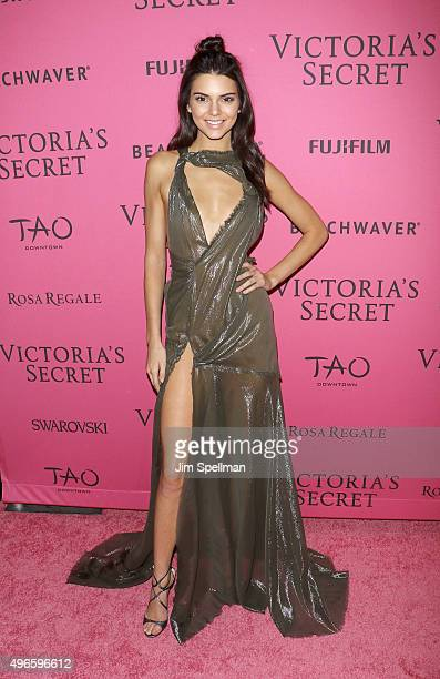 Model Kendall Jenner attends the 2015 Victoria's Secret Fashion Show after party at TAO Downtown on November 10 2015 in New York City