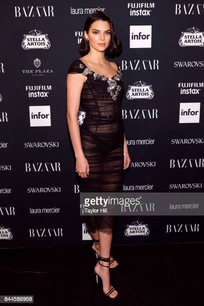 Model Kendall Jenner attends the 2017 Harper ICONS Party at The Plaza Hotel on September 8 2017 in New York City