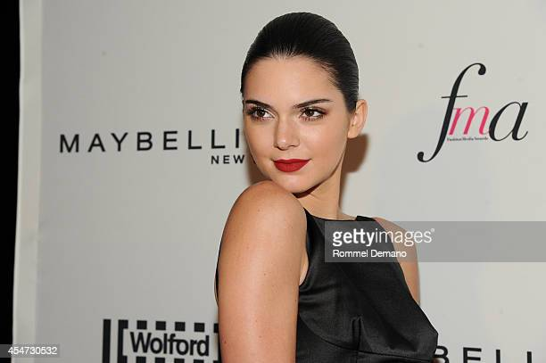 Model Kendall Jenner attends The Daily Front Row Second Annual Fashion Media Awards at Park Hyatt New York on September 5 2014 in New York City