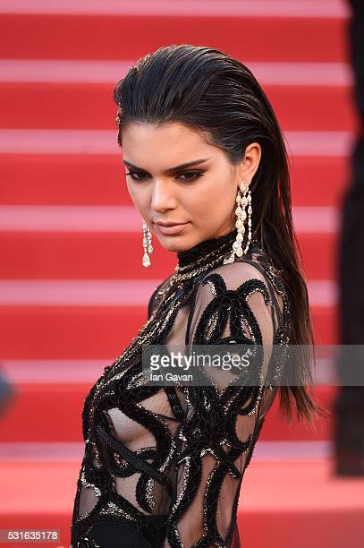 Model Kendall Jenner attends the 'From The Land Of The Moon ' premiere during the 69th Annual Cannes Film Festival on May 15 2016 in Cannes