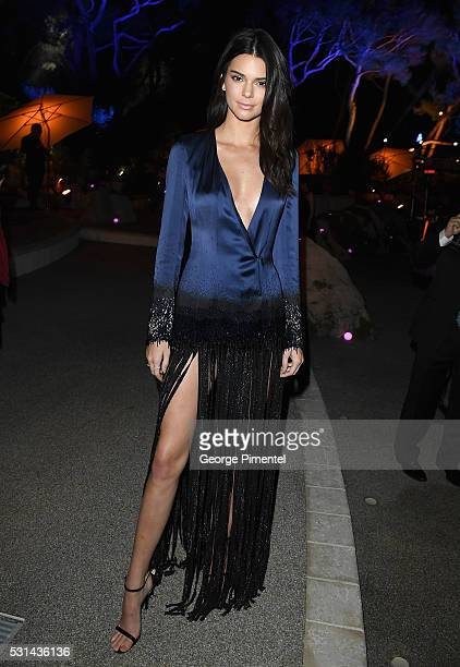 Model Kendall Jenner attends Vanity Fair and Chopard AfterParty Celebrating the Cannes Film Festival at Hotel du CapEdenRoc on May 14 2016 in Cap...
