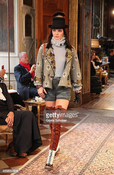 Model Kendall Jenner during the Chanel Metiers d'Art Collection 2014/15 ParisSalzburg on December 2 2014 in Salzburg Austria