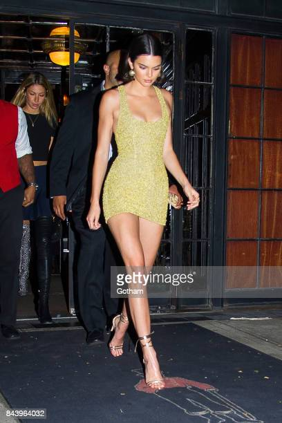 Model Kendall Jenner is seen the East Village on September 7 2017 in New York City