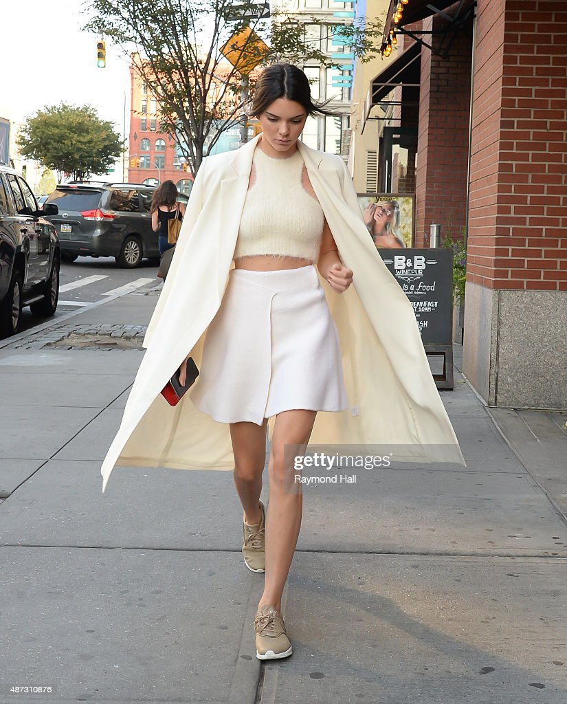 Model Kendall Jenner is seen walking in Soho on September 8 2015 in New York City