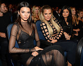 Model Kendall Jenner with TV Personalities Khloe Kardashian and Kylie Jenner at The 2015 ESPYS at Microsoft Theater on July 15 2015 in Los Angeles...