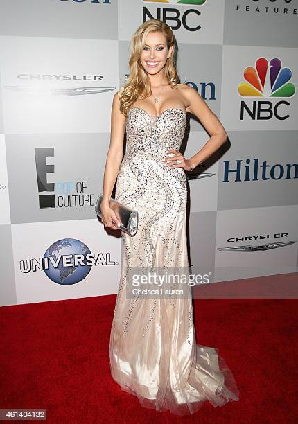 Model Kennedy Summers attends the NBCUniversal 2015 Golden Globe Awards Party sponsored by Chrysler at The Beverly Hilton Hotel on January 11 2015 in...