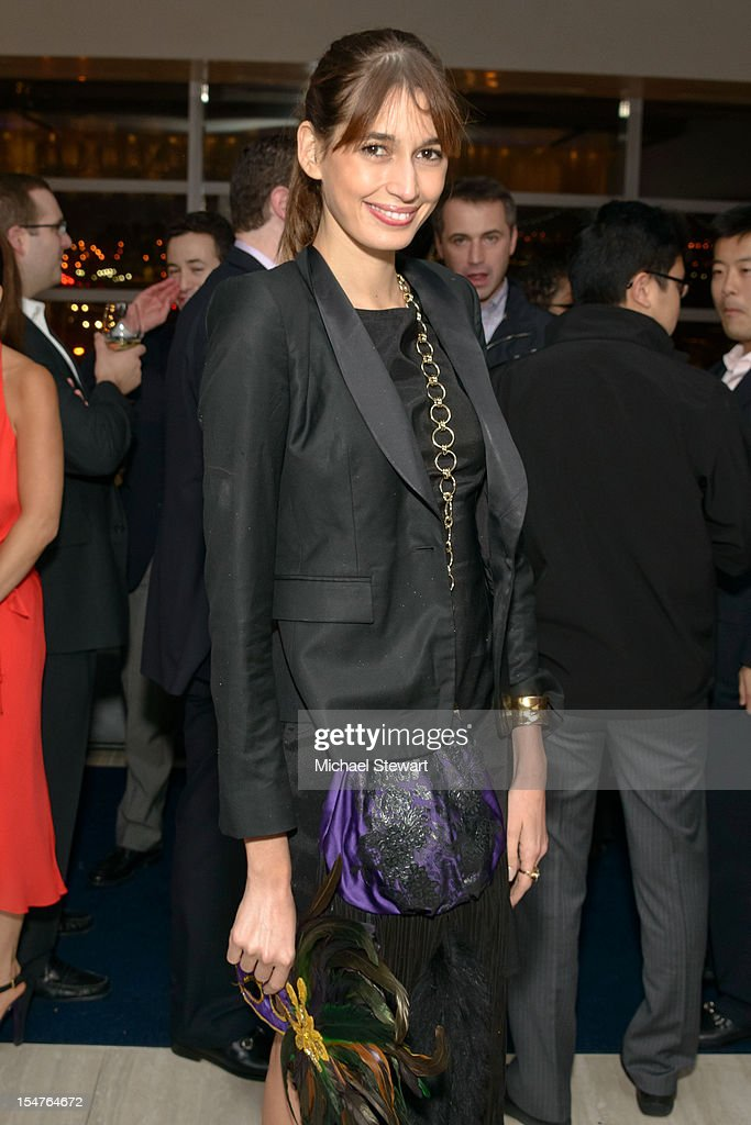 Model Kenza Fourati attends the 2012 Masquerade Ball Benefiting Ronald McDonald House at Apella on October 25, 2012 in New York City.