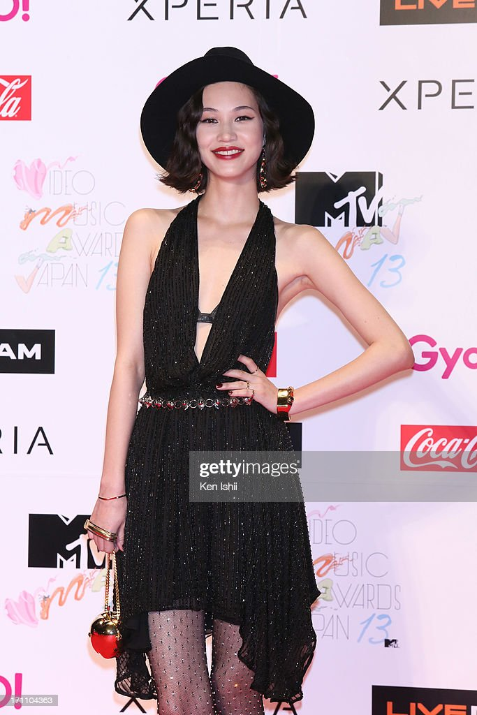 Model Kiko Mizuhara poses for photos during MTV VMAJ 2013 at Makuhari Messe on June 22, 2013 in Chiba, Japan.