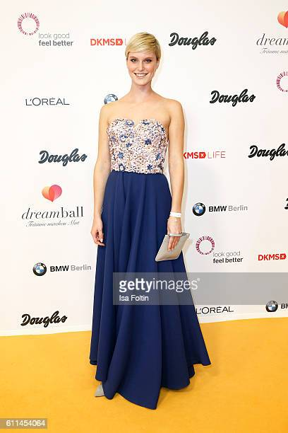 Model Kim Hnizdo attends the Dreamball 2016 at Ritz Carlton on September 29 2016 in Berlin Germany
