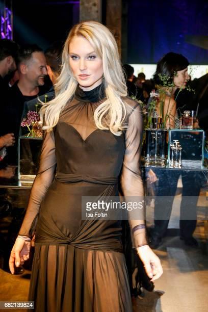 Model Kim Hnizdo attends the Duftstars at Kraftwerk Mitte on May 11 2017 in Berlin Germany
