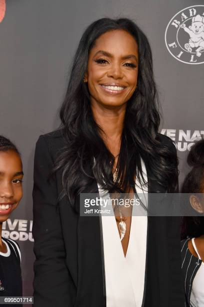 Model Kim Porter attends the Los Angeles Premiere of Apple Music's CAN'T STOP WON'T STOP A BAD BOY STORY at The WGA Theater on June 21 2017 in...