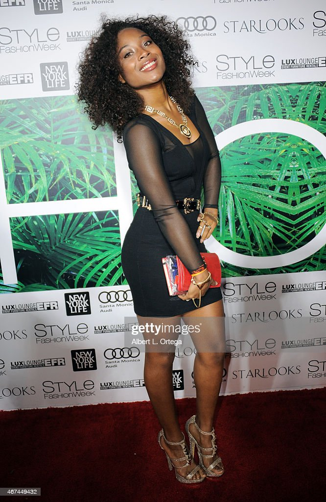 Los Angeles Style Fashion Week 2015 A Night With Haiti Getty Images