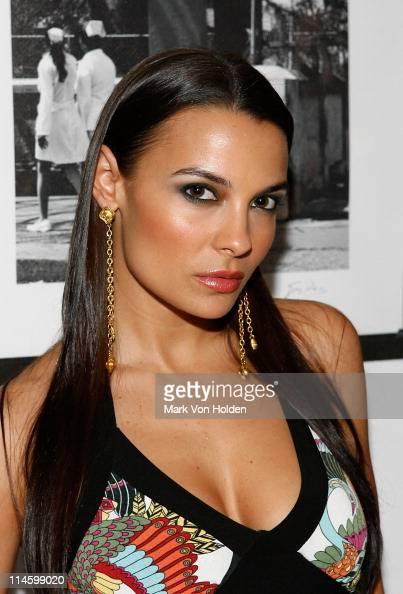 Model Krista Ayne Attends The