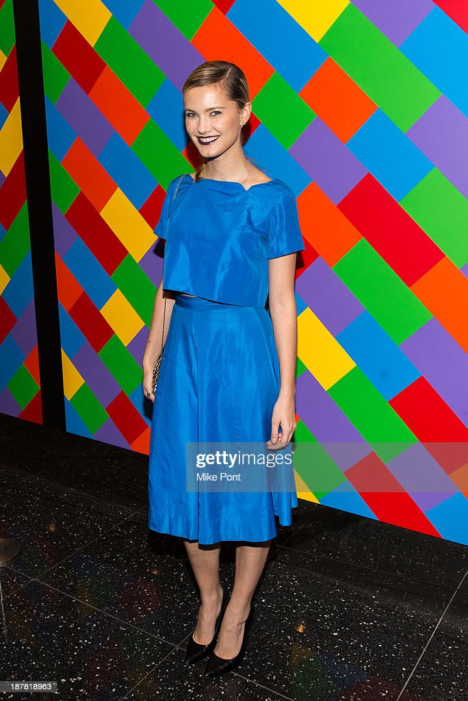 Model Kyleigh Kuhn attends a special screening of 'White Gold' at the Museum of Modern Art on November 12, 2013 in New York City.